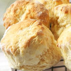 Buttermilk Biscuits Recipe from Grandmother's Kitchen