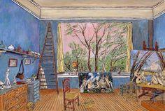 Damian Elwes 1960   British painter   The Artist's Studio
