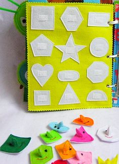 spielzeug-fur-frauen-artikel-ahnlich-wie-abbildungen-ruhiges-buch-filz-geometrische-figuren/ delivers online tools that help you to stay in control of your personal information and protect your online privacy. Diy Quiet Books, Felt Quiet Books, Quiet Book Patterns, Sewing Patterns Free, Sewing Toys, Sewing Crafts, Sensory Book, Diy Bebe, Personalized Books