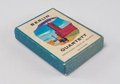 """DDR Museum - Museum: Objektdatenbank - """"Berlin Quartett"""" Copyright: DDR Museum, Berlin. Eine kommerzielle Nutzung des Bildes ist nicht erlaubt, but feel free to repin it!"""