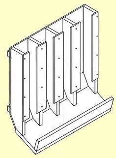 Food Storage Shelves, Can Storage, Pantry Storage, Storage Ideas, Storage Racks, Pantry Diy, Pantry Ideas, Wood Storage, Canned Good Storage