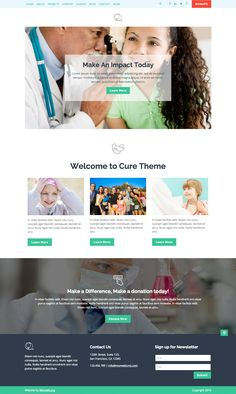 Use Morweb CMS to build a custom website for your nonprofit or association. Custom Website, Website Themes, Make A Donation, Non Profit, The Cure, Health, Design, Salud, Health Care