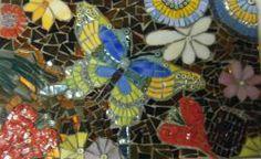 butterfly mosaic art | titolo butterfly genere mosaico contemporaneo tecnica mosaico ... Butterfly Mosaic, Genere, Mosaic Art, Opera, Opera House, Mosaics