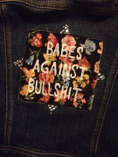 babes against bullshit patch