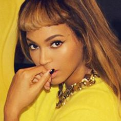 Three Steps to Getting #Flawless Baby Bangs Like Beyoncé  #InStyle