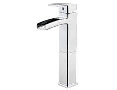 Pfister LG40-DF0C Kenzo Single Handle Lavatory Vessel Faucet - Chrome