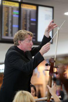 Photograph © Peter Devlin #Glasgow #Airport #RSNO #Concert