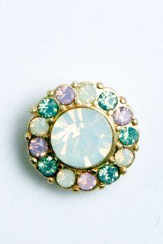 Blooming Crystal Stud Earrings $8.99