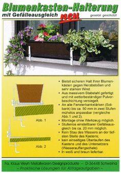 http://ift.tt/1Jmm3W1 Blumenkastenhalterung mit Gefälleausgleich braun @@ji