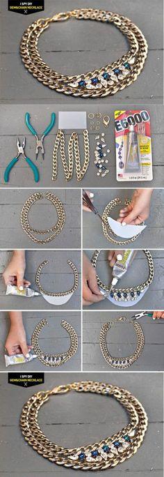 Diy Beautiful Necklace | DIY & Crafts