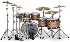 DW Drum Sets Have Excellent Quality! PDP from DW is great for beginner drummers!