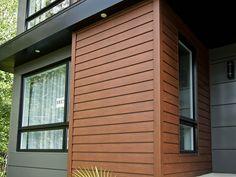 Trucedar Steel Siding Metal That Looks Like Wood Quality Edge Exterior House Siding, Dream House Exterior, Exterior House Colors, Steel Siding, Cedar Siding, Wood Siding, House Cladding, Facade House, Modern Exterior