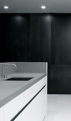 | MODERN + BLACK | KITCHEN #Wilfra