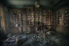 Library ghosts: (by andre govia)
