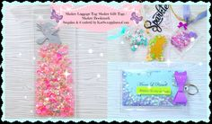 Luggage & Shaker Tags|Shaker Bookmark|Sequins by KatScrappiness - YouTube