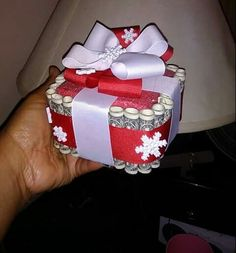Christmas Money cake