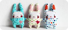 easter bunny doll pattern and tutorial.