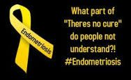 Endometriosis quotes~Women get full hysterectomies and still suffer from endometriosis. Often some tissue still remains in the pelvic cavity, sometimes it has already attached to other organs. The pain does not stop nor does endometriosis stop with a full hysterectomy. If I had a dollar for every person that has suggested I would get better if I just got a hysterectomy. Like it's that simple. SMH