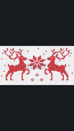 Cross stitch & jacquard