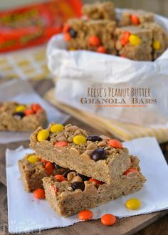 Reese's Peanut Butter Granola Bars - Mom On Timeout