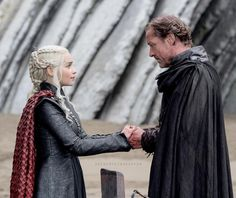 """20.1k Likes, 156 Comments - Emilia Clarke ♡ (@daenerystargaryen) on Instagram: """"My personal favorite scenes from last nights episode were the Jorah ones... I love him and I didn't…"""""""