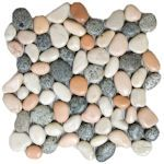 Buy Mini Mixed Pebble Tile at Discount Prices!