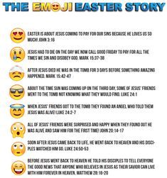 FREE Emoji Easter Story – Children's Ministry Deals