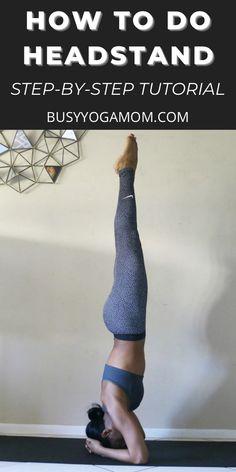 Beginner Yoga, Yoga For Beginners, How To Do Headstand, Fat Burning Yoga, Yoga Inversions, Bedtime Yoga, Yoga Mom, Yoga Workouts, Free Yoga