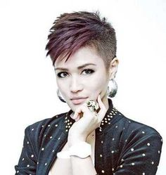Image result for punk pixie cut