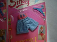 BNIB 4 x 1988 Sindy Doll Outfits | eBay