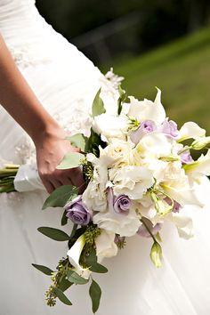 White and Purple Flowers, Travis J Photography, Colorado