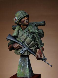 sk miniatures 1st Cavalry Div Vietnam bust - Google Search