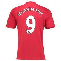Manchester United 16-17 Zlatan Ibrahimovic 9 Hjemmebanetrøje Kort ærmer