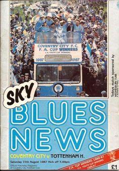 15 August 1987 v Tottenham Hotspur Won 2-1