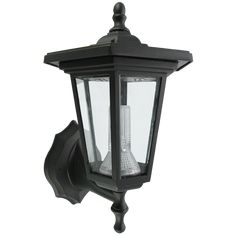 Outside Wall Lights Argos : Buy Smart Solar Seville Lantern Outdoor Light - Black at Argos.co.uk - Your Online Shop for Wall ...