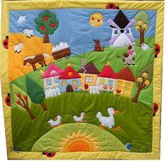 BQ Falucska játszószőnyeg babának,