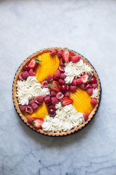 mango tart #sweet