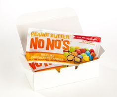 Chocolate Peanot Butter No No's 3 Pack