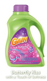 Gain is the greatest laundry detergent ever