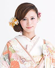 和装 ヘアスタイル hairstyle for kimono 資生堂美容室
