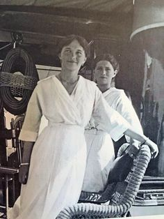Olga and Marie. 1914