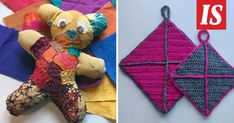 Perinteiset kädentaidot kiinnostavat jälleen suomalaisia. Nämä kaksi käsityötä kenen tahansa on helppoa tehdä itse. Crochet Bikini, Christmas Ornaments, Holiday Decor, Art, Art Background, Christmas Jewelry, Kunst, Performing Arts, Christmas Decorations