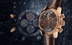 Louis Moinet Uses Meteorites, Dinosaur Bones and Other Treasures for Rare Artistic Watch Dials | ATimelyPerspective