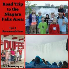 Road Trip to Niagara Falls area-- tips and recommendations