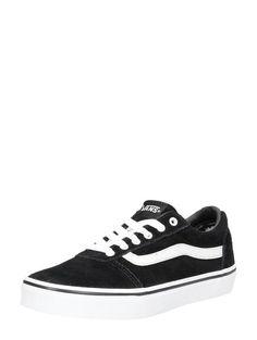 vans atwood white heren sneakers wit
