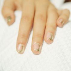 The Best Nail Art Spring 2015 - New York Fashion Week: from silver french to bold negative space nails, here's the best 10 best manicures that are worth...