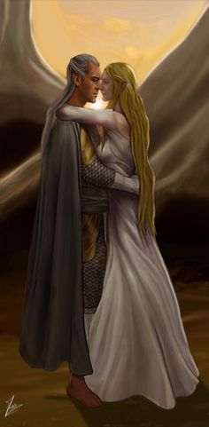 Galadriel has learned the bitter lessons history has to teach, and she is wiser for such experience. But he is more thoughtful and analytical, whereas she goes more on experiential instinct. Galadriel and Celeborn complement each other, but neither is strikingly superior to the other. Celeborn is, in fact, quite decisive, whereas Galadriel is deliberative and cautious.