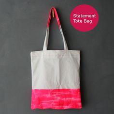 tatement Tasche {DIY} ::: Statement Tote Bag tutorial