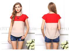 2017 Summer New Arrival Women T-shirt Plus size loose short-sleeved chiffon shirt rainbow t shirts china clothing