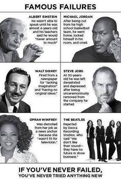 Ever feel like a failure?